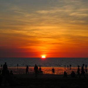 ダーウィンの夕日