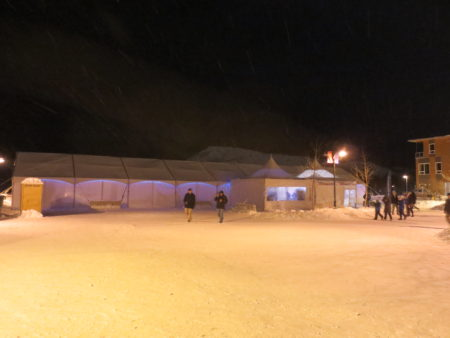 カナダ,ユーコン,ホワイトホース,ワーキングホリデー,ランデブー,冬のお祭り