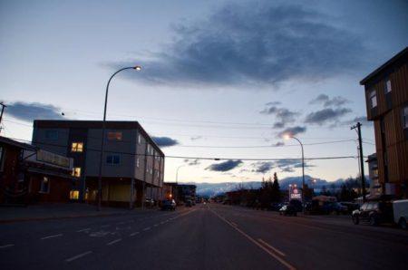 カナダ,ホワイトホース,ユーコン準州,白夜